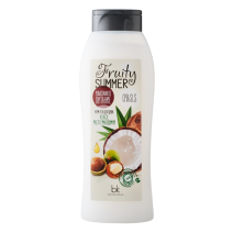 Shower  Cream Gel Gourmet Nutrition • Coconut • Macadamia Oil